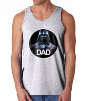 Darth Father Dad Vader Men Tank Top