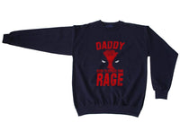 Daddy Needs to Express some Rage Deadpool Unisex Crewneck Sweatshirt - Meh. Geek - 2