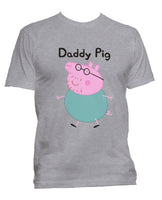 Dady Pig Men T-shirt / Men Tee
