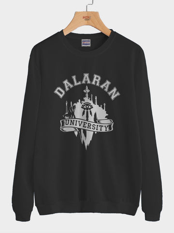Dalaran University Wow Unisex Crewneck Sweatshirt Adult