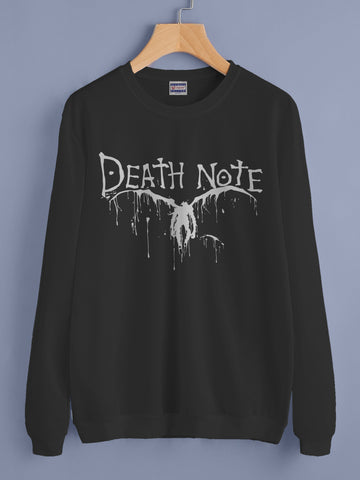 Death Note Symbol Ryuk Shinigami Unisex Crewneck Sweatshirt Adult
