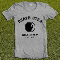 Death Star Academy Starwars Unisex Women T-shirt - Meh. Geek