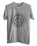 Deathly Hallows Art Harry Potter Unisex Men T-shirt - Meh. Geek