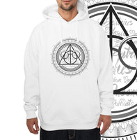 Deathly Hallows Art Harry potter Unisex Pullover Hoodie - Meh. Geek