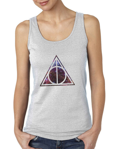 Deathly Hallows Galaxy Harry potter Women Tank top