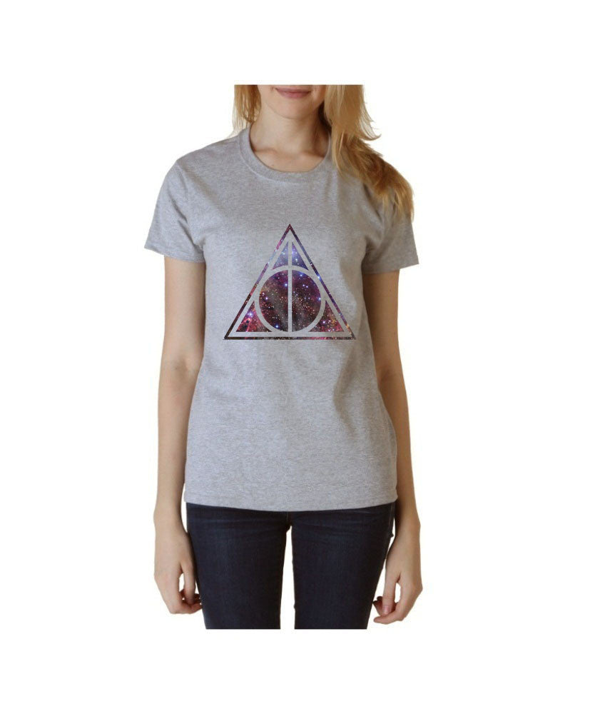Deathly Hallows Nebula Harry potter Unisex Women T-shirt - Meh. Geek