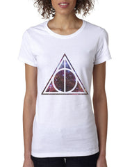 Deathly Hallows Nebula Harry potter Women T-shirt