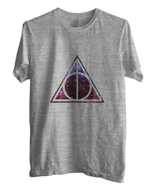 Deathly Hallows Nebula Harry Potter Men T-shirt