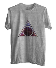 Deathly Hallows Nebula Harry Potter Unisex Men T-shirt - Meh. Geek
