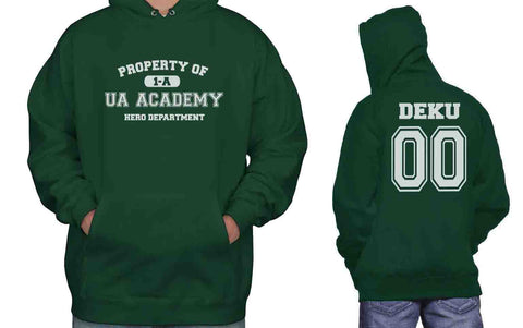 Deku 00 Property Of UA Academy 1-A Class Unisex Pullover Hoodie Adult