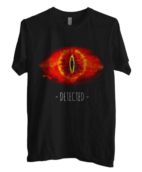 Sauron Detected Lord Of The Rings T-shirt Men - Meh. Geek