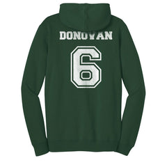 Donovan 6 Mystic Falls Timberwolves The Vampire Diaries Unisex Pullover Hoodie - Forest Green
