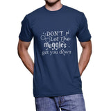 Don`t let muggles get you down NEW Harry potter Unisex Men T-shirt - Meh. Geek - 4