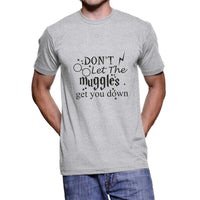 Don`t let muggles get you down NEW Harry potter Unisex Men T-shirt - Meh. Geek - 2