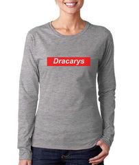 Dracarys Sprm Long sleeve T-shirt for Women