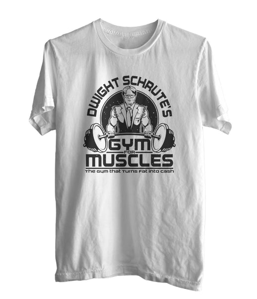 Dwight Schrute Gym Men T-shirt / Tee