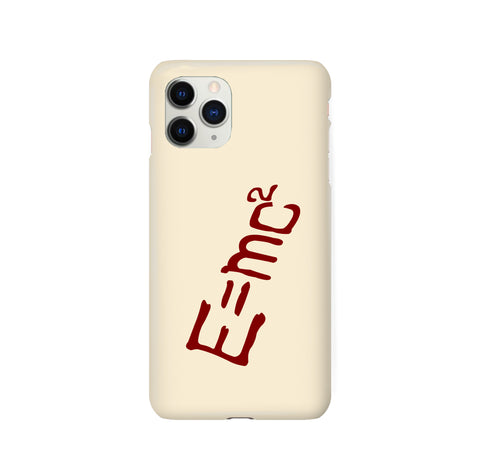 E = MC2 Senku Dr. Stone iPhone Snap or Tough Case