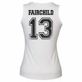 Fairchild 13 Idris University Women Tank Top White
