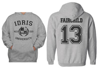 Fairchild 13 Idris University Unisex Pullover Hoodie