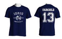 Fairchild 13 Idris University Men T-shirt Navy - Meh. Geek - 1