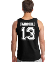 Fairchild 13 Idris University Men Tank Top Black