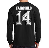 Fairchild 14 Idris University Long Sleeve T-shirt for Men Black - Meh. Geek - 3