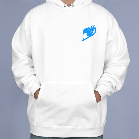 Fairy Tail Blue pocket symbol Manga Anime Pullover Hoodie