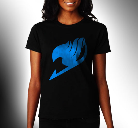 Fairy Tail symbol Manga Anime Unisex T-shirt Women - Meh. Geek