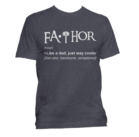 Fathor Definition Men T-shirt / Tee