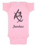 Fearless rune runes of magic The Shadowhunters Baby Onesies - Meh. Geek - 2