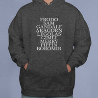 Fellowship of the rings Lord Of The Rings Unisex Pullover Hoodie