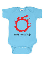 Final Fantasy XIV Infant Baby Rib Lap Shoulder Creeper Onesie Bodysuit