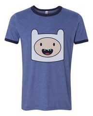 Finn Adventure Time | Ringer Unisex T-shirt / tee