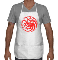 Fire And Blood Tagaryen Sigil Two Pocket Apron APR51