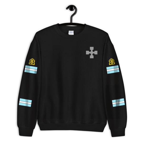 Special Fire Force Company 8 Anime Unisex Crewneck Sweatshirt (Adult)