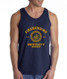 Firebending University Yellow Ink print Avatar Fire Bender Men Tank Top - Meh. Geek - 2