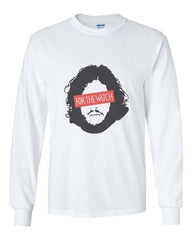 For The watch Jon Snow Long Sleeve T-shirt for Men - Meh. Geek - 1