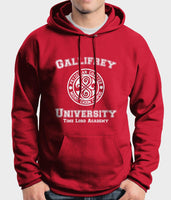 Gallifrey University Time Lord Academy Doctor Who Unisex Pullover Hoodie