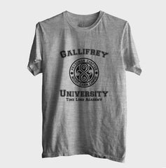 Gallifrey University Doctor Who Unisex Men T-shirt - Meh. Geek
