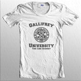 Gallifrey University Time Lord Academy Doctor Who Women T-shirt / Tee