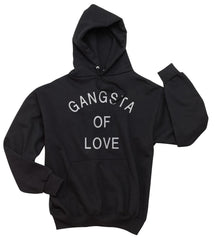 Gangsta Of Love Quotes Unisex Pullover Hoodie - Meh. Geek - 5