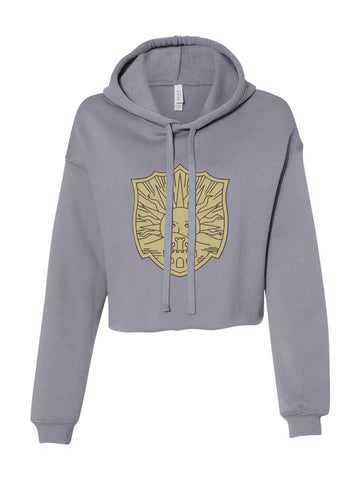Golden Dawn Black Clover Cropped Hoodie