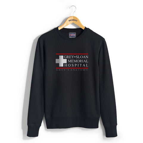 Grey Sloan Memorial Hospital Unisex Crewneck Sweatshirt - Meh. Geek