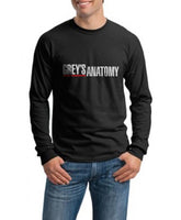 Greys Anatomy Long Sleeve T-shirt for Men