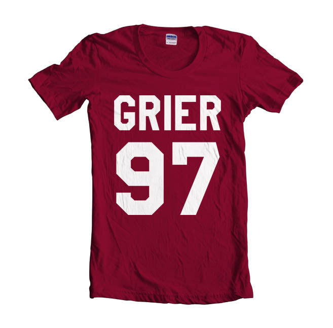 Grier 97 White Ink on Front Nash Grier Women T-shirt
