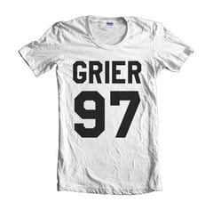 Grier 97 Black Ink on Front Nash Grier Women T-shirt