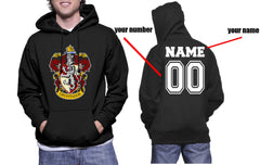 Customize - Gryffindor #1 Color Unisex Pullover Hoodie Black