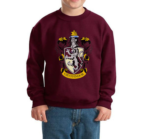 Gryffindor #1 Crest Kid / Youth Crewneck Sweatshirt PA Crest