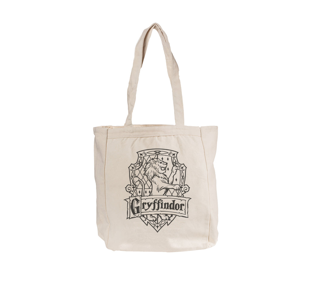 Gryffindor Crest #2 B/w Tote bag BE008 12 OZ