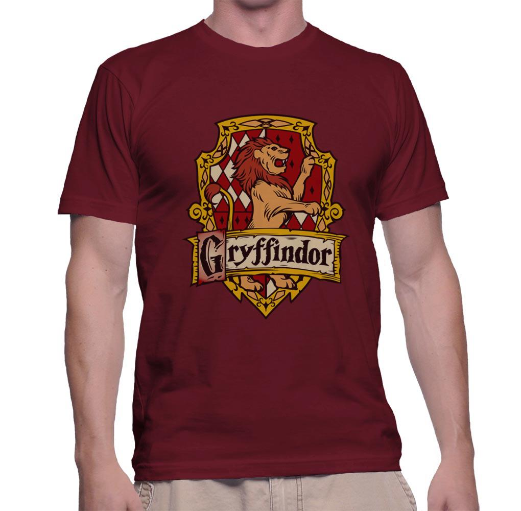 Gryffindor #2 Crest Color Men T-shirt tee PA Crest
